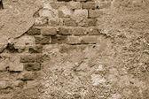 Old wall - monochrom — Foto de Stock
