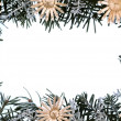 Stock Photo: Christmas - decoration - frame