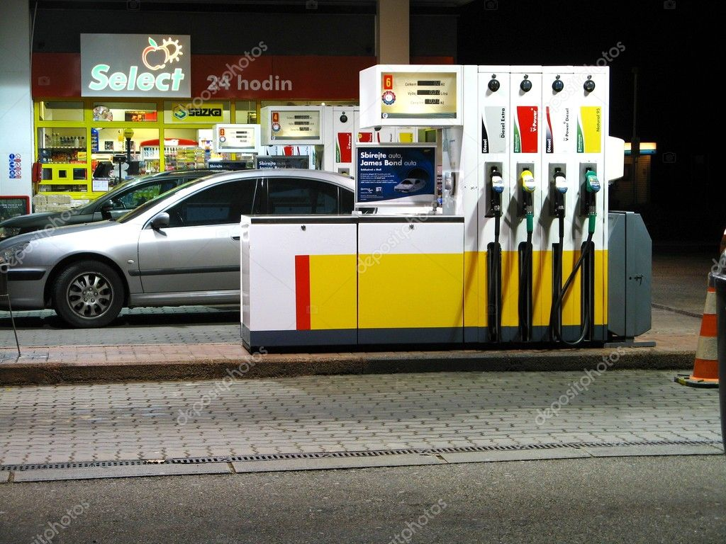 Gas station pumps  Stock Photo #2362185