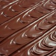 Chocolate icing - background — Stock Photo