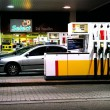 Gas station pumps - Stock Photo