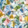 Stock Photo: EURO background