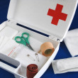 First-aid kit - Foto de Stock