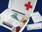 First-aid kit — Stock fotografie