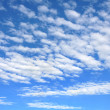 Cloudscape - only sky and clouds — Stock Photo