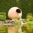 Stock Photo: Jugs Fountain Topiary park Durbui
