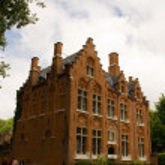 Flemish stile house in Brugges Belgium — Stock Photo #2333000