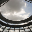 Reichstag dome sky view — Stock Photo #2501663