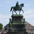 Statue of King Johann (John) — Stock Photo