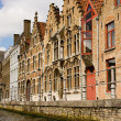 Canal street in Brugges Belgium — Stock Photo #2502078