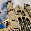 Brugges main cathedral — Stock Photo #2502242
