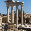 Apollo temple seview Side, Turkey — Stock Photo #2503283