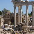 Ruins of Temple of Apollo in Side Turkey — Stock Photo #2503321