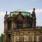 Part of the Zwinger palace — Stock Photo