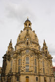 Dresden Frauenkirche (of our Lady) — Stock Photo