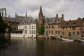 Brugge view — Stock Photo