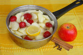 Apple compote — Stock Photo