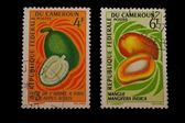 Post stamps of Cameroon — Stock Photo