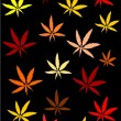 Marijuana background - Stock Photo