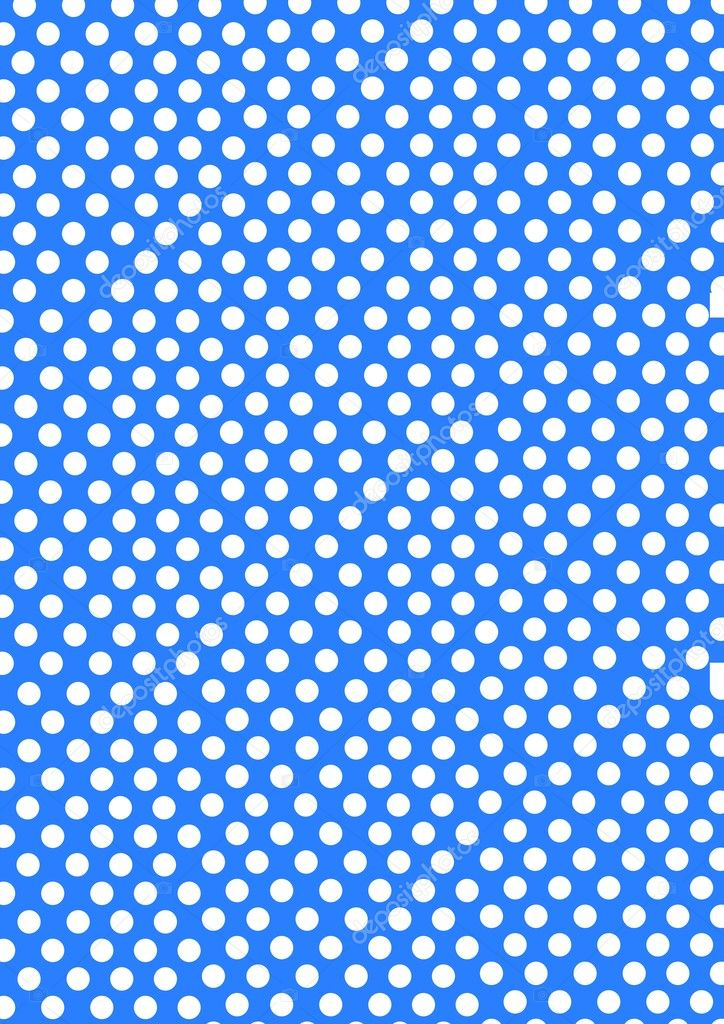 Dotted Background Image Dots on a Blue Background