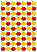 Apple background — Stock Photo