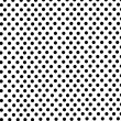 Black dots on white background - Stock Photo