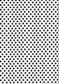 Black dots on white background — Stock Photo