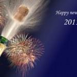 Happy new year 2011 — Stock Photo
