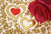 Heart as symol for Love — Stock Photo