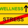 Royalty-Free Stock Photo: STRESS WELLNESS