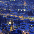 German city Garmisch-Partenkirchen - Stock Photo