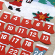 Advent calendar - Stock Photo