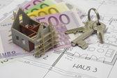 House building plan — Stock Photo