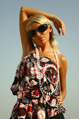 Beautiful summer girl — Stock Photo