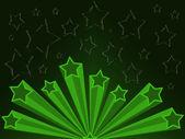 Retro star illustration — Stock Photo
