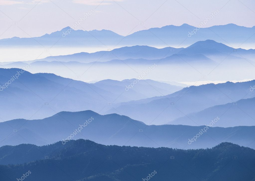 Mountain Ranges in World — Stock Photo #2493505