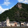 At the Rhine river — Stock Photo