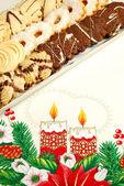 Pastel de navidad — Foto de Stock