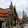 Stock Photo: Guardiin grand palace in Bangkok