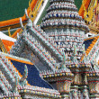 Stock Photo: Detail of roofs at Grand palace