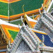 Detail of roofs — Stock Photo