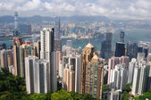 Hong Kong skyscrapers — Stock Photo