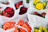 Ramos de rosas — Foto de Stock