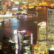 Hong Kong at the night — Stock Photo #2243809