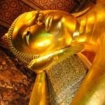 Statue of golden buddha — Stock Photo #2248897