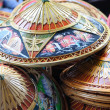 Stock Photo: Many thai hats