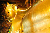 Lying buddha — Stock Photo