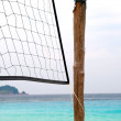 Beach volleyball net — Stock Photo #2258871