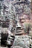 Rostros del rey camboyano — Foto de Stock