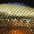 Stock Photo: Singapore esplanade theater at night
